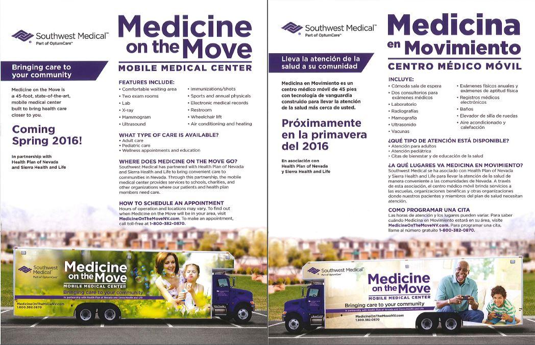 Medicine On The Move Clinic Las Vegas Immunize Nevada