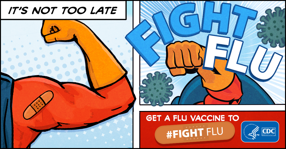 it u2019s not too late to vaccinate  u2013 get your flu vaccine
